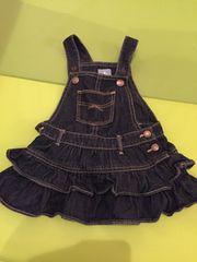 babygapフリルデニムジャンパースカート80サイズ12〜18M