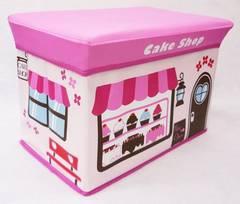 新品 送料無料 ストレージボックス スツール ケーキショップ