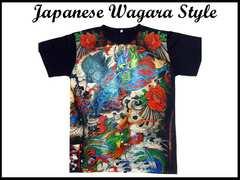 日本和柄 Japanese Wagara Styleストリートウェア #83 L