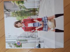 前田淳子・雑誌折り込みポスター