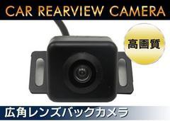 広角カラーレンズ★カーモニター:バックカメラ★車幅ガイド無