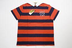 オーシャンパシフィックポロシャツM-XL赤×紺◆QUIKSILVER系