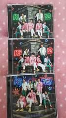 Kis-My-Ft2���L�~�Ƃ̃L�Z�L��CD�̂݁{CD&DVD��3��ā��L�X�}�C