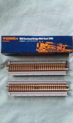 TOMIX 1051 高架橋付レールS140(2本セット)
