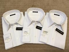 長袖新品ワイシャツ 白ドビー 3枚セット 3Lサイズ