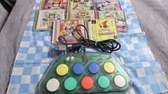 PS/PS2用 ポップンコントローラ+ソフト8本セット
