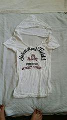 ギルフィ*フード付Tシャツ*M