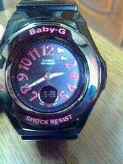美品正規品Baby−G SHOCK RESIST 時計 ハート 1点のみ
