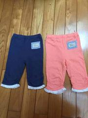 Biquette 90 美品 新品 ビケット 紺色 ピンク セット レギンス