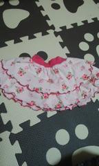 中古Combi miniコンビミニピンク系花柄スカート