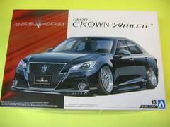 アオシマ 1/24 ザ・チューンドカー No.13 ブレーンX10 GRS214 クラウン アスリート G'12