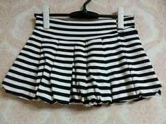 即決!! SALE!! 新品タグ付き ボーダーバルーンパンツ スカート
