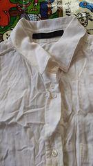 マウジー 白シャツ