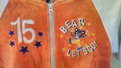 【サイズ100】《LITTLE BEAR CLUB 》新品タグ☆オレンジ系☆男女☆