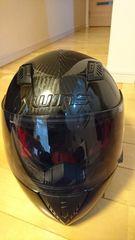 自動二輪車ヘルメット約Mサイズ美品レベルブラック購入価格3万円
