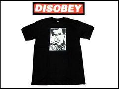 disobey streetウェア T−シャツ NS-66 【黒-L】