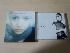 Eri CD「BLUE」「SPEND〜run to run」2枚セット★
