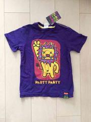 新品タグ付*PARTYPARTY*ライオンTシャツ*110