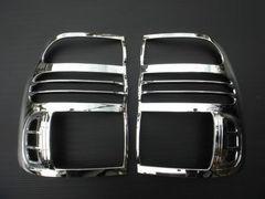 ランドクルーザー100系 メッキ テールライトリング ランクル