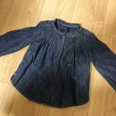 GAP◆美品デニムシャツ100