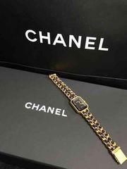 CHANEL シャネル 腕時計 ゴールド ブラック