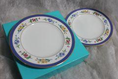 ティファニー フローラル Floral 1998 皿二枚組 未使用保管品