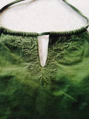 緑色シャツ Sサイズ