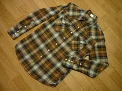 EDWINエドウィンG00101状態良好Sウエスタンネルシャツ長袖シャツ