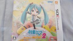 中古3DSソフト/初音ミクProjectmirai2/プロジェクトミライ2/ボカロ