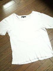 美品AMERICAN RAGCE 半袖カットソー アメリカンラグシー 灰