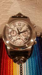 ハウライト SAAD 時計 シルバー 革 腕時計