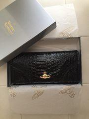 Vivienne Westwood ヴィヴィアンウエストウッド 黒 長財布