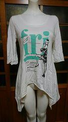 SLY/スライ☆アシメ 七部 Tシャツ