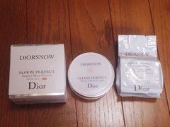 正規Diorスノーブルームパーフェクトクッション★美品リフィル付