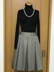 a.v.v ライトカーキのタック使いスカート♪