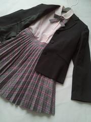 *女の子可愛いスーツ*《150》エンジェルブルー&ヒロミチナカノ