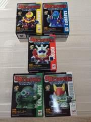 UBロボット列伝 サンライズ編 全5種セット イデオン ザンボット3