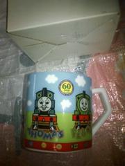 ☆60th☆機関車トーマス★トーマスランド★六角形☆マグカップ