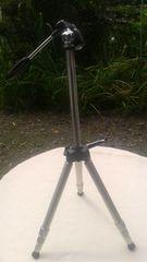 ゴールドフォトアクセサリー小型4段三脚