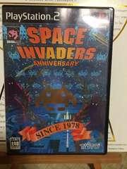 スペースインベーダー アニバーサリー PS2  美品
