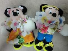 東京ディズニーランド購入 ミッキー ミニー ぬいば USED