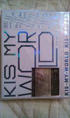 KIS-MY-WORLD(初回生産限定盤A)(CD2枚+DVD)