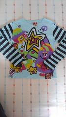 ラブレボ♪水色ロゴ長袖シャツ♪130�p