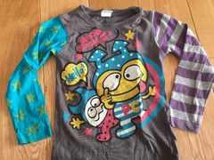 かわいい!パロクラブ 長袖Tシャツ 120 JAM グラグラ
