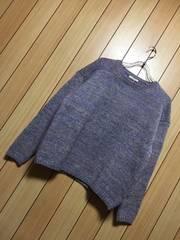 新品タグ付きstudio CLIP★羊毛・アルパカ混ニット