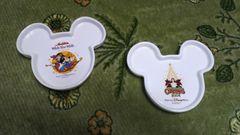 ディズニーシーミッキーミニーお皿2004、05