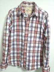 ホリスター チェックシャツ L