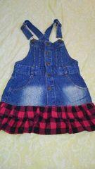 女児ジーンズスカート120