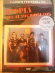 DVDソフト UTOPIA:LIVE AT THE ROYAL OAK 輸入盤 未開封 洋楽
