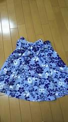 セシルマクビー☆めちゃくちゃかわいい 花柄 スカート リボン